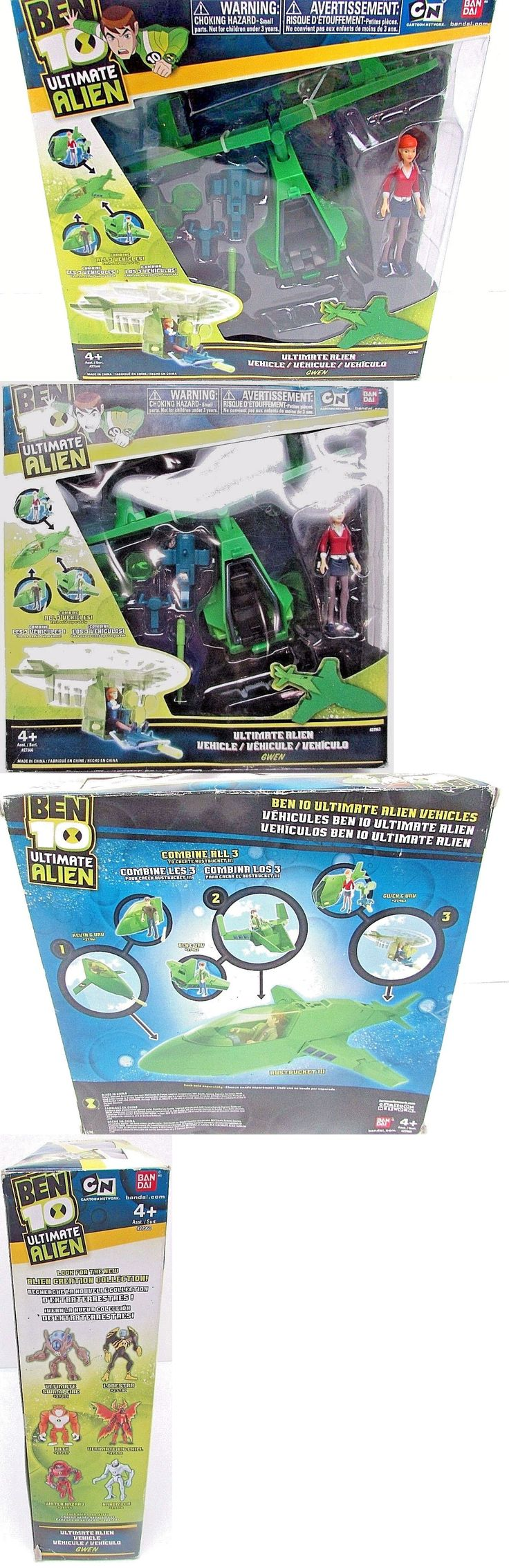Ben 10 152906: Ben 10 Ultimate Alien Vehicle With Gwen 27960 Bandai New -> BUY IT NOW ONLY: $48.89 on eBay!