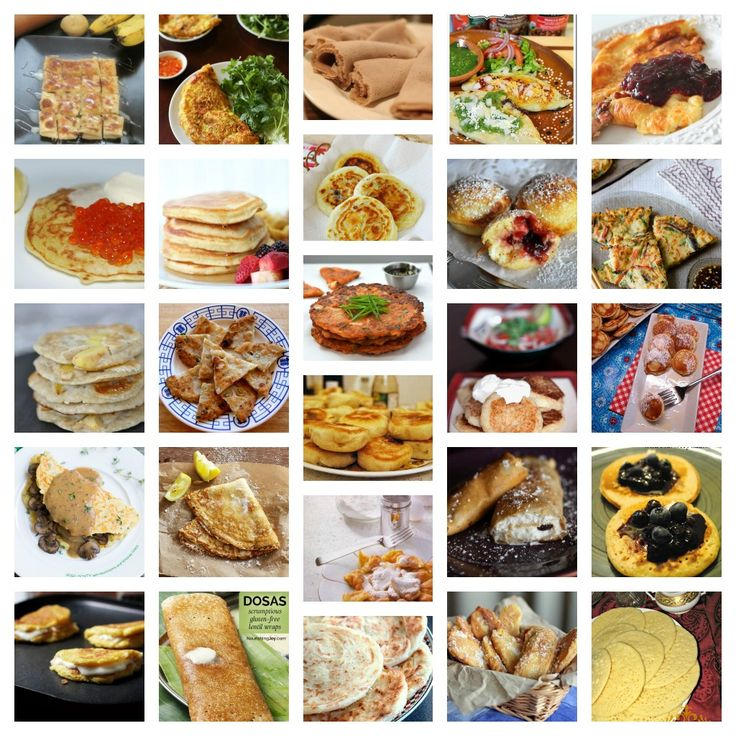 Pancakes exist in different forms around the world and you can check them all out!