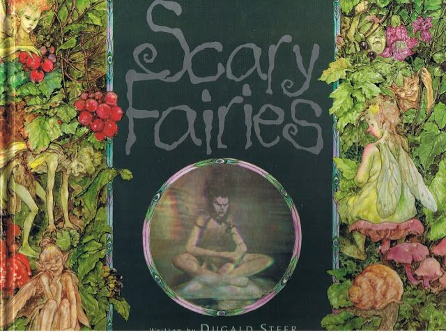 Scary Fairies Written by Dugald Steer, 1997.  You might be surprised, but this is a picture book written for young children, full of scary fairy hologram pictures.