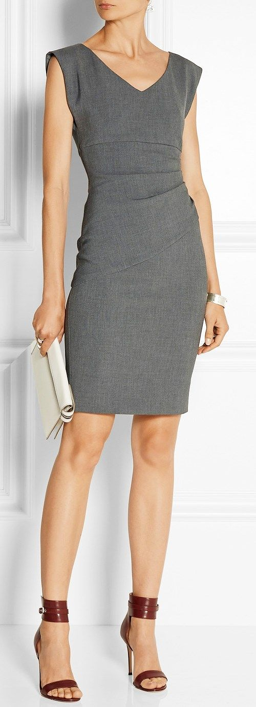 Diane von Furstenberg | fall trends. the little grey wiggle dress evening or daywear power dressing for the chic and savvy alice