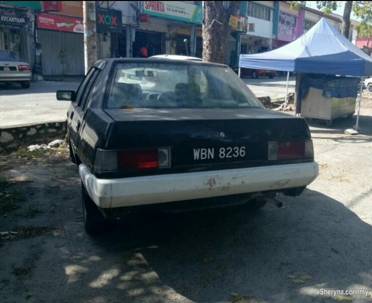 Used PROTON SAGA 1988 for sale, RM1,700 in Kajang, Selangor, Malaysia. Proton Saga 1. 5 (A) Auto 1500cc. Year 1988  Engine Hidup dan b