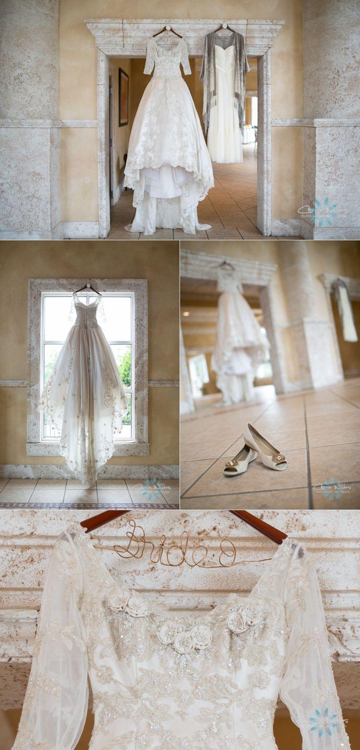 Vintage wedding gown!