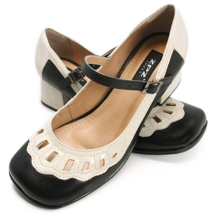 Sapato Feminino Retrô - Calçado Feminino   ZPZ Shoes