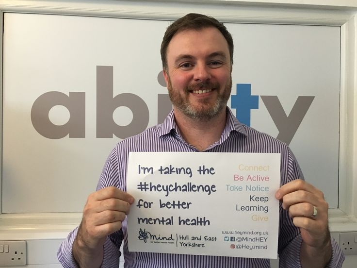 Michael O'Grady from Ability IT supporting the Hull & East Yorkshire MIND Heychallenge 2016