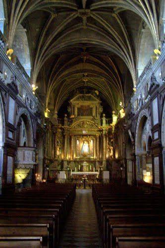 Verdelais Basilique Notre-Dame, nef