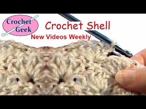 Teresa Richardson Home Hangout: How to make Crochet Shell Stitch