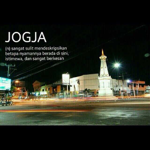 Jogjakarta, one of central cities in Indonesia