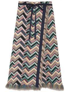 リリーブラウン(Lily Brown)のカラフルロングスカート ロングスカート