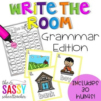 Write the Room Grammar Edition (30 hunts for the year!)
