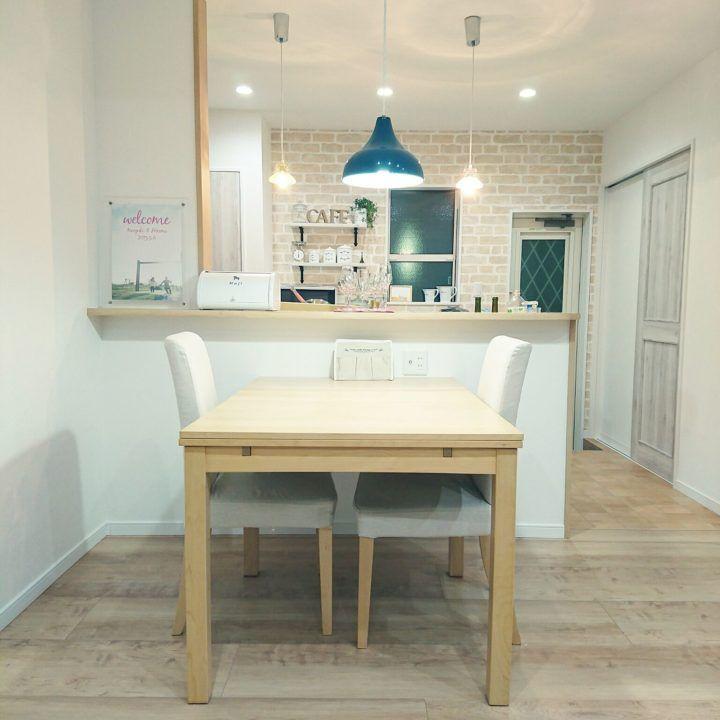 どれで食事したい?IKEAのテーブルが叶える素敵なダイニング♪ | folk 出典:http://roomclip.jp. シンプルなデザインのダイニングテーブル ...