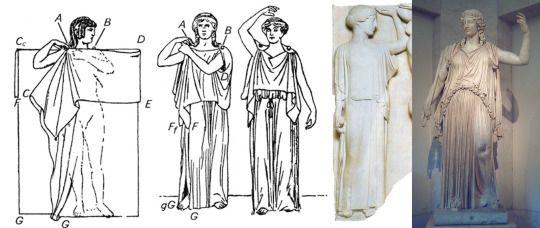 Doric Chiton - Fashion in ancient Greece
