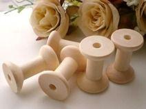 5 stuks Houten Sewing Thread Spoelen