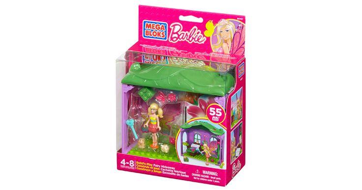 Barbie - Build 'n Play Fairy Hideaway | Mega Bloks