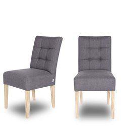 Lot de 2 chaises capitonnées Pauwel  _ DRAWER