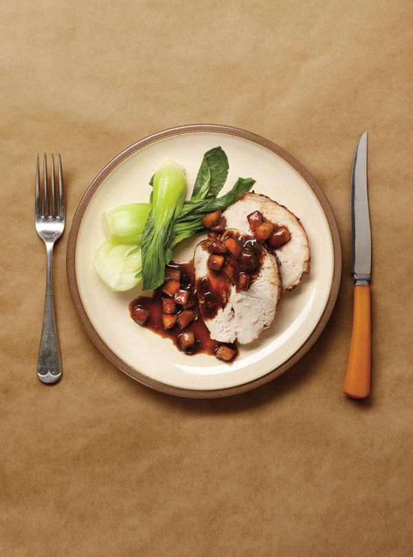 Ricardo's recipe : Apple and Balsamic Turkey Roast
