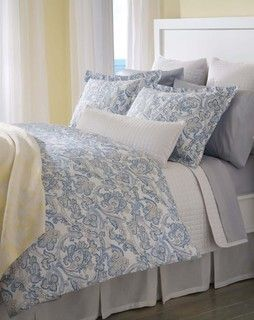 """Peizli"" Duvet Covers by DownTown Company - traditional - duvet covers - other metro - by Kellsson Home Linens"