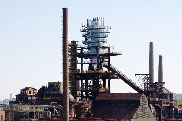 Nástavba vysoké pece č.1 - Bolt Tower