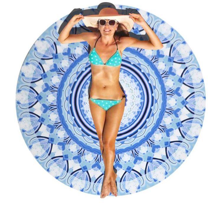 Goedkope 100% katoenen handdoeken dikke ronde beach hippie bohemian gedrukt kwastje indian mandala tapestry yoga tapestry deken picknickkleed, koop Kwaliteit badhanddoeken rechtstreeks van Leveranciers van China: 100% katoenen handdoeken dikke ronde beach hippie bohemian gedrukt kwastje indian mandala tapestry yoga tapestry deken picknickkleed