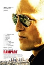 RAMPART: Despite a magnetic performance by Harrelson, it deals with issues, such as police corruption and their effects on the soul and family, that have been seen numerous times in film and television. The script feels like an entire season of THE SHIELD condensed into an hour and forty minutes.