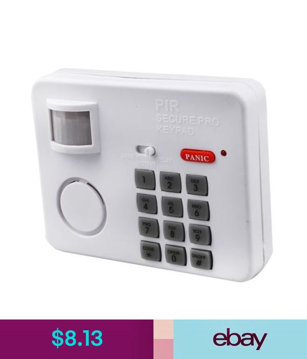 39 Ingenious Diagrams For Your Home And Garden Projects: Alarms Wireless Motion Sensor Alarm With Security Keypad