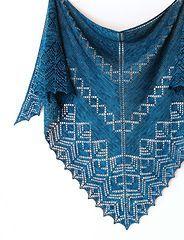 Ravelry: Wilshire Shawl pattern by Dee O'Keefe