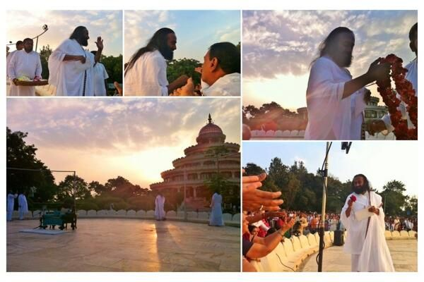 Sri Sri Ravi Shankar at The Art of Living #Bangalore Ashram #India
