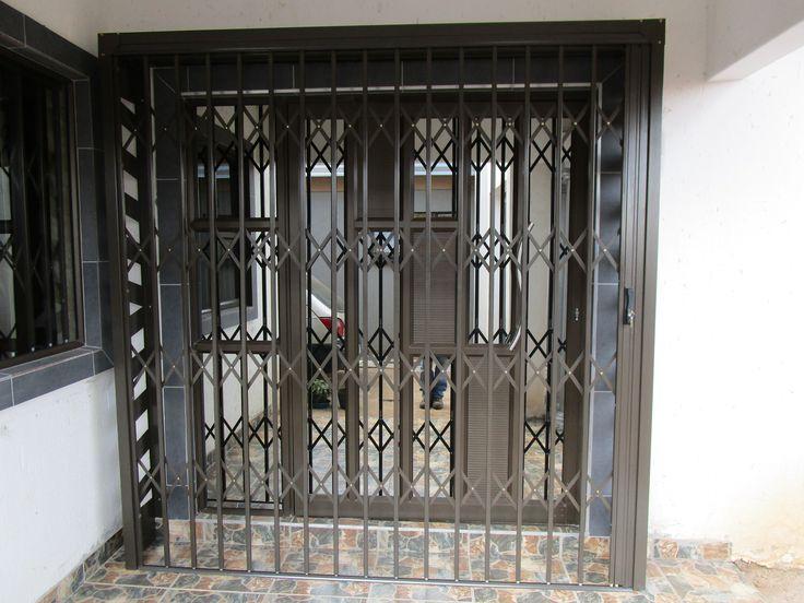 Security doors for pivot door. Get your front entrance secure with Robo Door. www.robodoor.co.za