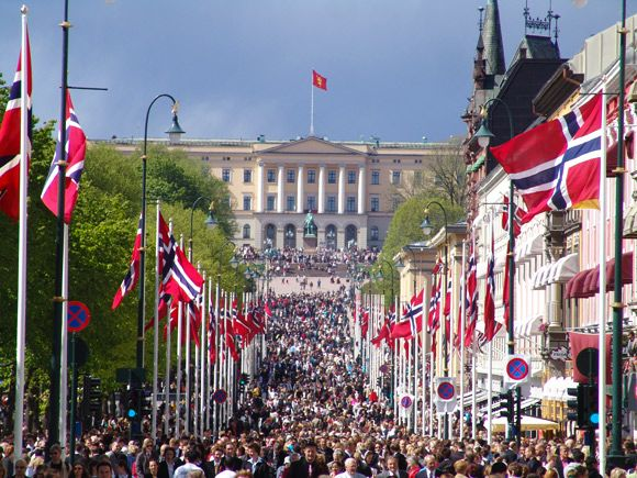 Norwegian Constitution Day is the National Day of Norway and is an official national holiday observed on May 17 each year.