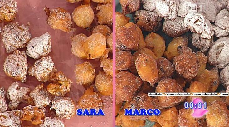 La ricetta delle frittelle di Carnevale di Sal De Riso del 12 febbraio 2015 - Dolci dopo il tiggì