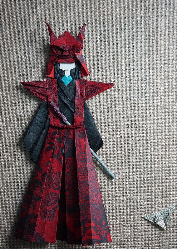 samurai - washi ningyo