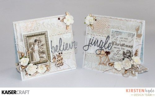 KAISERCRAFT - FROSTED - CHRISTMAS CARDS - KIRSTEN HYDE - MYHYDEAWAY - 10
