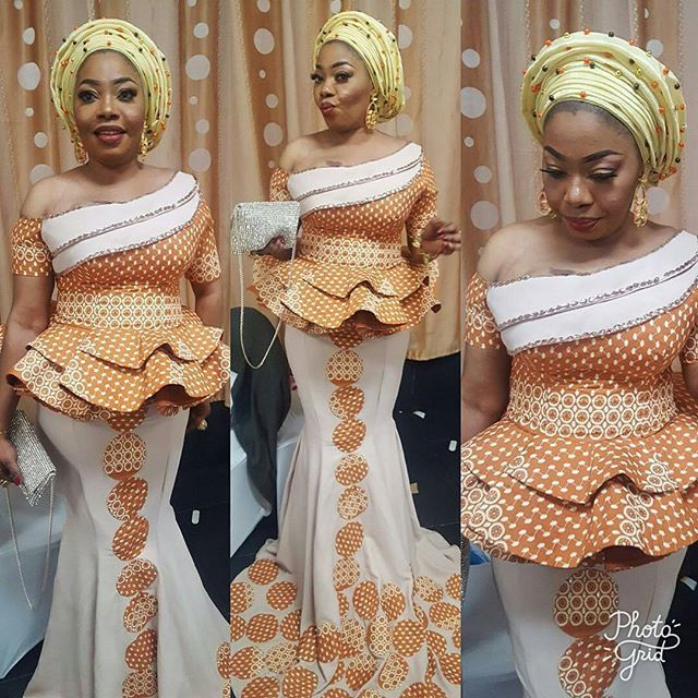 Yomi Shabi Styles are all you'll get in this collection, she is a stylist and always give the stylspiration you need to stay fabulous. There are numerous ankara