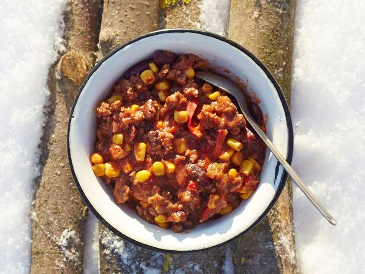 This super-easy and yummy trail chili has to be one of the best dishes to serve on a backpacking trip.