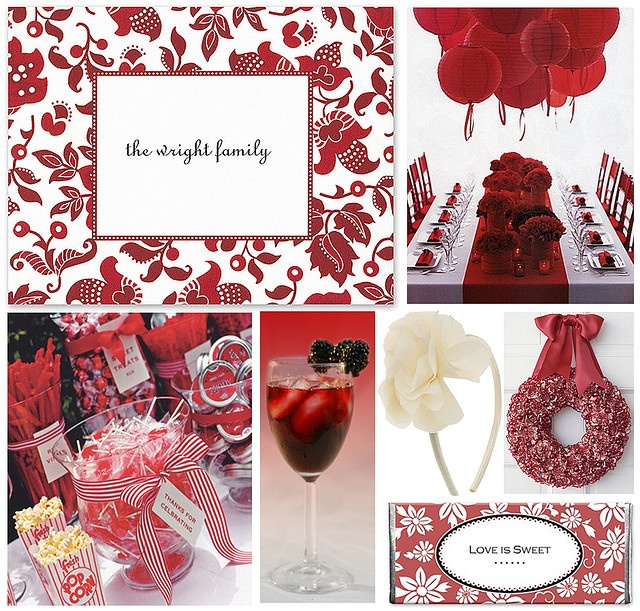 Ideas For A 40th Wedding Anniversary Party: 121 Best Ruby Wedding Anniversary Images On Pinterest
