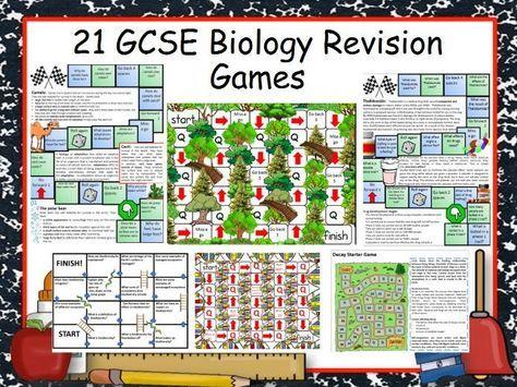21 GCSE Biology Revision Games