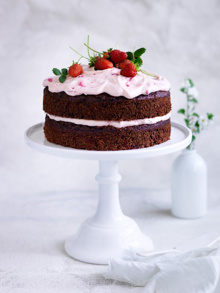Recipes | Beetroot Chocolate Cake | Louise Fulton Keats