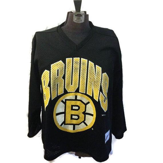 90's Boston Bruins Jersey / 1990's NHL Hockey by RetroFreshTees, $42.00