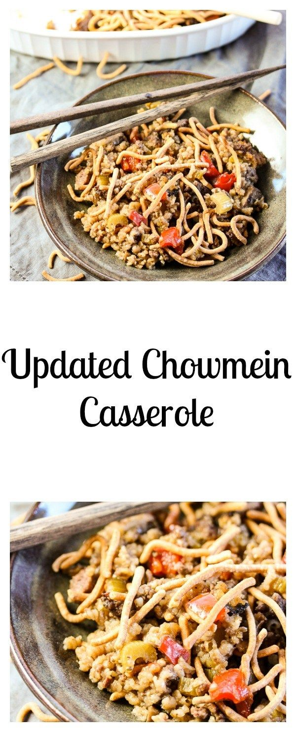 12 best casserole images on pinterest cooking food amigos and his chowmein casserole is a healthier updated version of a classic favorite with an easy homemade sauce rather than cream soup plus extra veggies forumfinder Images