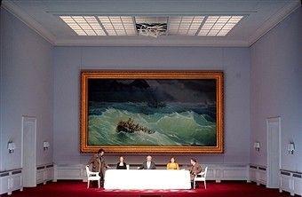 Oper 'Simon Boccanegra' vonGiuseppe Verdi, Hamburgische Staatsoper, Inszenierung: Claus Guth, Bühne: Christian Schmidt,