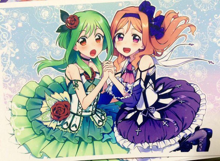 Tokoha&Kumi^^x #CardfightVanguardG #TokohaAnjou #KumiOkazaki fanart is not mine^^x