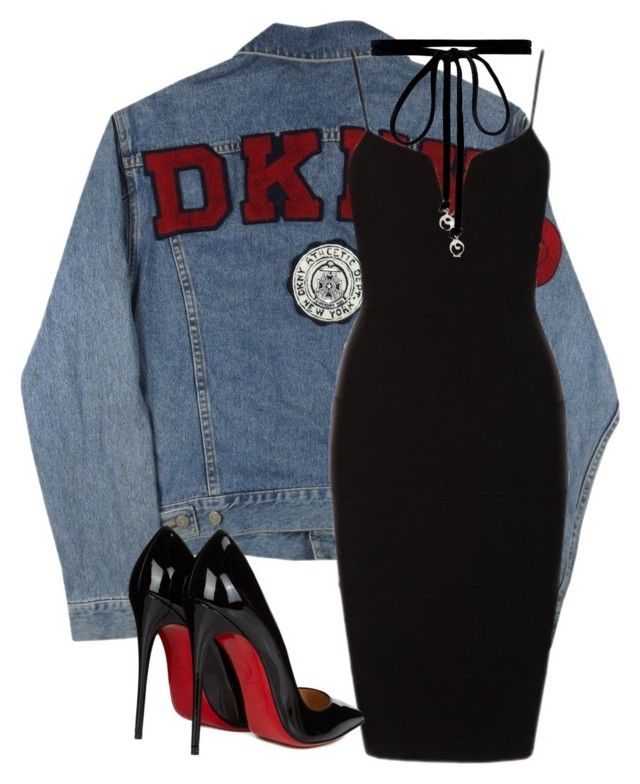 """""""No. 1"""" by amanimilani on Polyvore featuring DKNY, Christian Louboutin and Joomi Lim"""