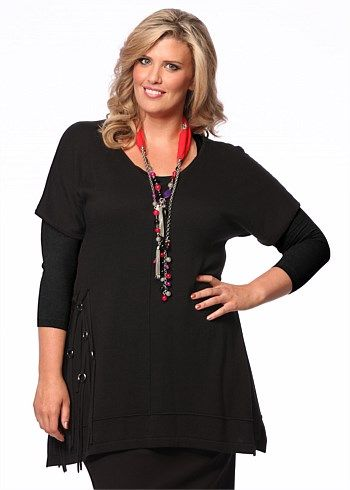 Tribecca Pullover #Takingshape #curvy