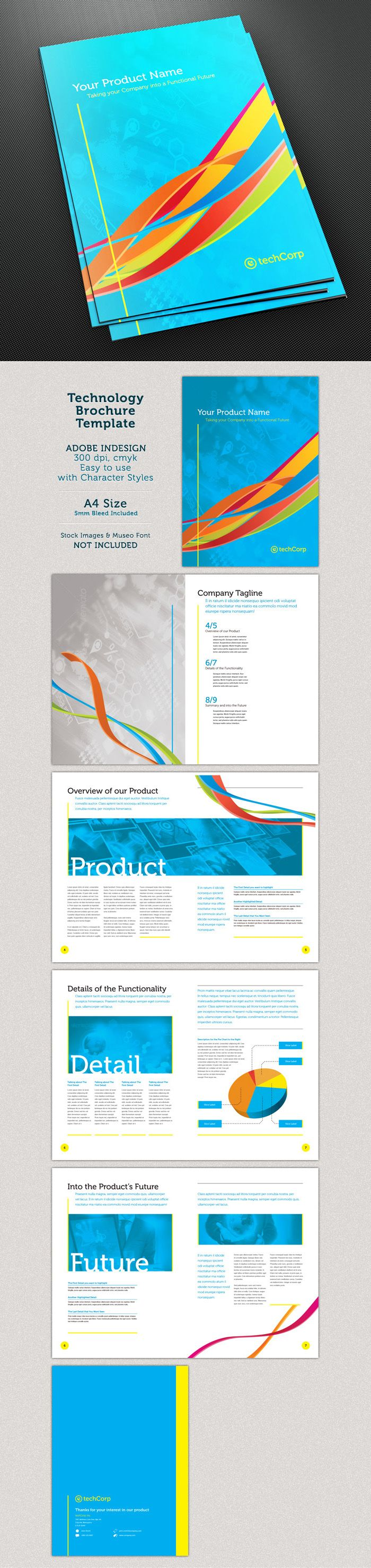 Best Publication Images On   Brochure Template