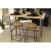 Found it at Wayfair.ca - Prep Table with Wood Top
