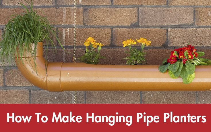 Add a touch of flair to any space with these Hanging Pipe Planters. Click on the image to find out more… #Summer #DIY