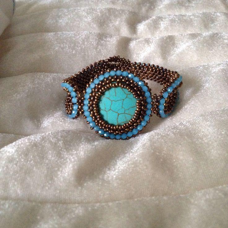 Beaded Bracelet-bead Necklace by Butik724 on Etsy