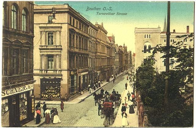 Ul. Jainty, Bytom, Poland 1908