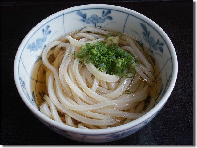 鴻ノ池うどん 冷かけ  Kounoike udon