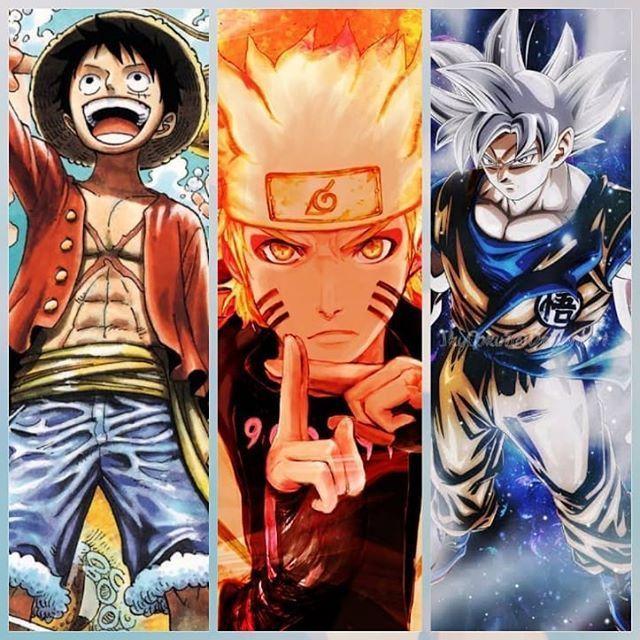 Dragon Ball Z Goku Naruto One Piece Luffy Anime Character Art Digital Design In 2021 Anime Anime Akatsuki Anime Dragon Ball