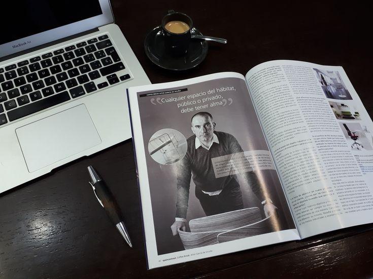 El magazine SPAINCONTRACT entrevista a Aitor García de Vicuña de AGVestudio.
